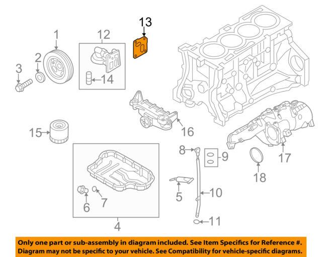hyundai oem 10 14 genesis coupe 2 0l engine oil filter housing Subaru Baja Engine Diagram hyundai oem 10 14 genesis coupe 2 0l engine oil filter housing gasket 215242c200