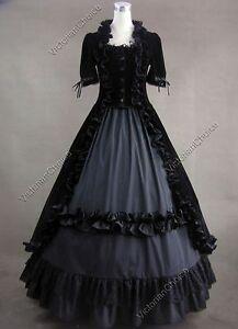 Black Victorian Dresses