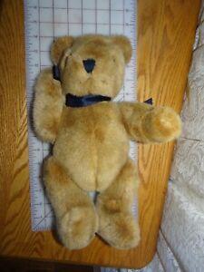 VTG-Made-in-Korea-Expressly-for-Mervyn-039-s-Jointed-Brown-Teddy-Bear-Plush-14-034