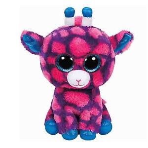 Glorieux Peluche Ty Beanie Boos Sky High Giraffa Rosa15 Cm Idea Regalo