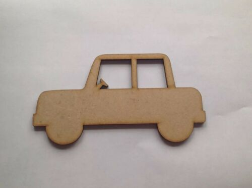 Cars,Wooden craft shapes x 5.