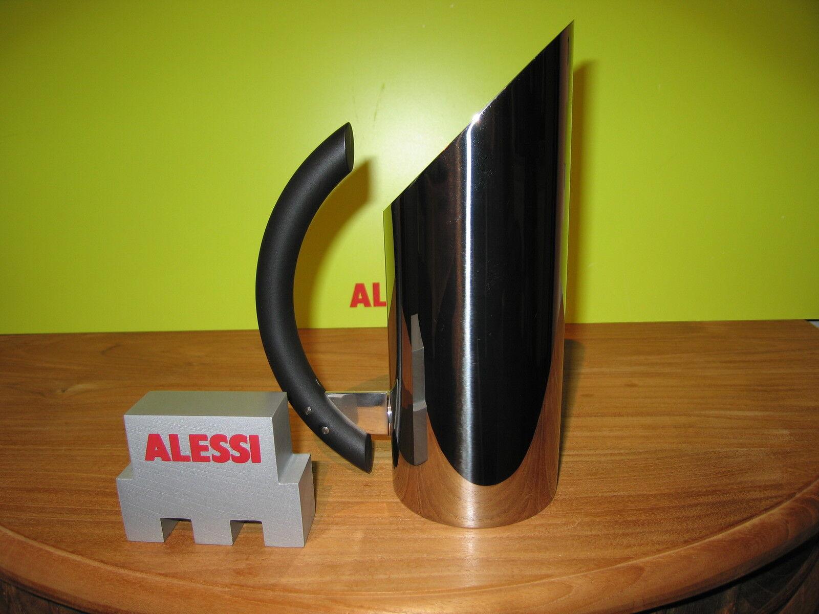 ALESSI NEW Carafe inox Mia H.23,5cm 70cl 70cl 70cl poignée noire MB02 Mario Botta | Approvisionnement Suffisant  | Exceptionnelle  | Vente En Ligne  | Outlet Online Store  2f9035