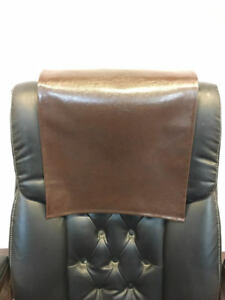 Terrific Details About 16 X 16 Chocolate Houston Recliner Protector Head Rest Cover Vinyl Sofa Seat Gmtry Best Dining Table And Chair Ideas Images Gmtryco