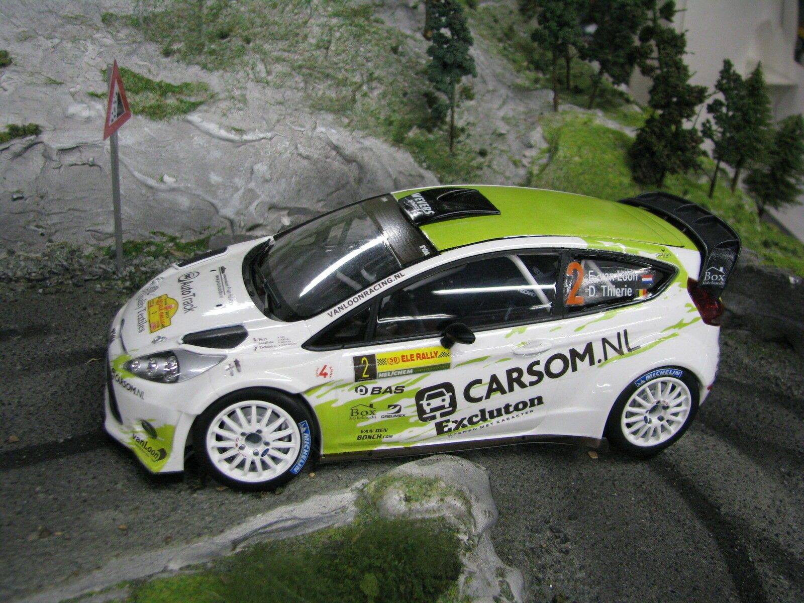 Minichamps Ford Fiesta RS WRC 2014 1:18  2 van Loon / Thierie  MCC