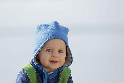 Disana Baby Boys Organic Merino Wool Jumper Berry