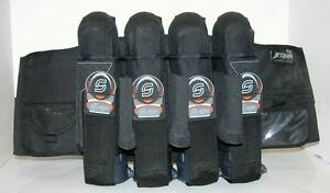 Syn Alpha Orange Tournament Paintball 4+3 Padded Harness Pack JP2002OL