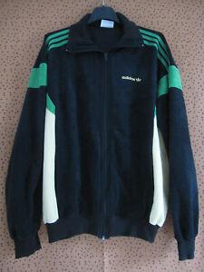 Détails sur Veste Adidas TERMINATOR Ventex 80'S Bleu et jaune Vintage Jacket 180 L
