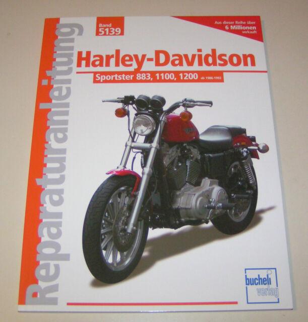 Manuale Riparazione Harley Davidson Sportster 883/1100/1200 - 1986 fino 1992
