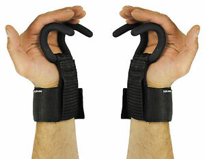 Garra-De-Aguila-Weight-Lifting-Hooks-Gym-Gancho-Empunaduras-Correas-Guantes