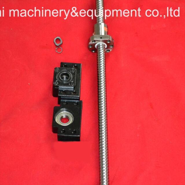 1antibacklash ballscrew 1605-1500mm-C7+BK/BF12+coupler
