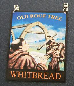 1-12-Scale-Old-Roof-Tree-Pub-Sign-Tumdee-Dolls-House-Miniature-Bar-Inn-Accessory