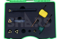 38 8 Pcs Rh Internal Amp External Threading Tool Holder 5 Insert Save 9060 S
