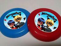 12 Miraculous Mini Frisbees Birthday Party Favor, Treat Bags, Prizes, Cat Noir