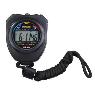 Digital Stopwatch Chronograph Time Alarm Sports Equipment For Referee Coach