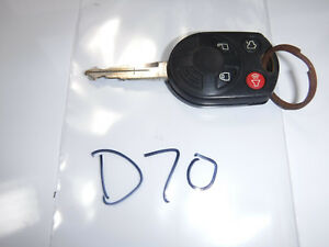 FORD LINCOLN MERCURY OEM KEYLESS REMOTE ENTRY KEY FOB (D70) 6u5t-19h316-ac