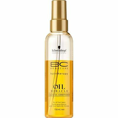 Schwarzkopf BC Liquid Oil Miracle leichter Spray Sprüh Conditioner 150ml