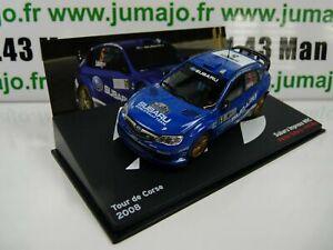 voiture-1-43-IXO-Altaya-Rallye-SUBARU-Impreza-WRC-Tour-De-Corse-2008-P-SOLBERG