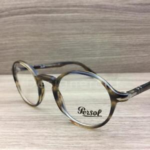 3266d0de24d Persol 3141-V 3141 V Eyeglasses Opal Brown 1049 Authentic 48mm