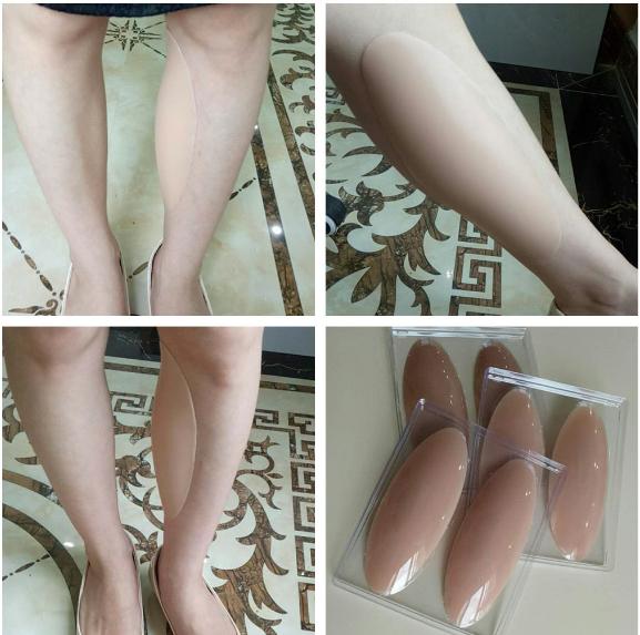 Auto-adhesivo de silicona Leggings  Cuidado Gel Almohadillas para O-forma pierna o nos Delgado Pierna DX  ahorrar en el despacho