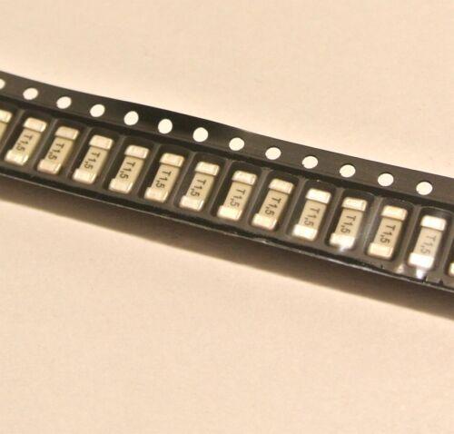 158000.1,5GT SIBA SMD Fuse 1,5A 125V 2,6x6,1mm QTY=10pcs