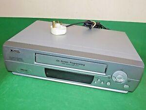 JMB-jmbd-1030-VCR-VHS-Video-Grabadora-De-Cassette-Vintage-Plata-Imagen-defectuoso