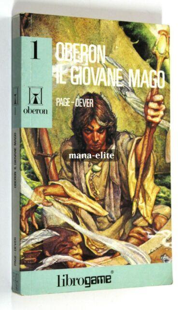 LIBROGAME Joe Dever & Ian Page OBERON n. 1 IL GIOVANE MAGO 1990 EL