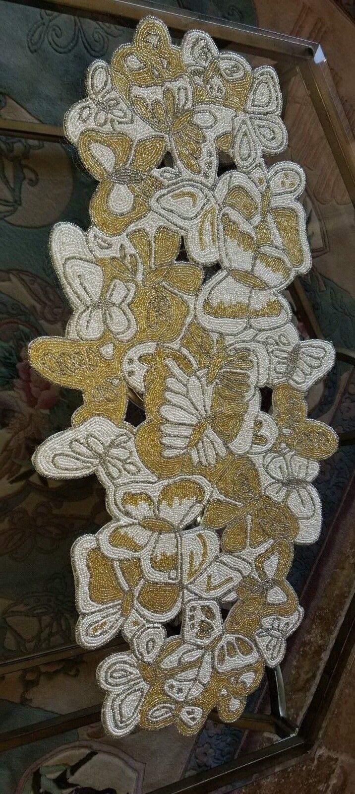 KIM SEYBERT Perles Papillon Runner Neuf avec étiquettes