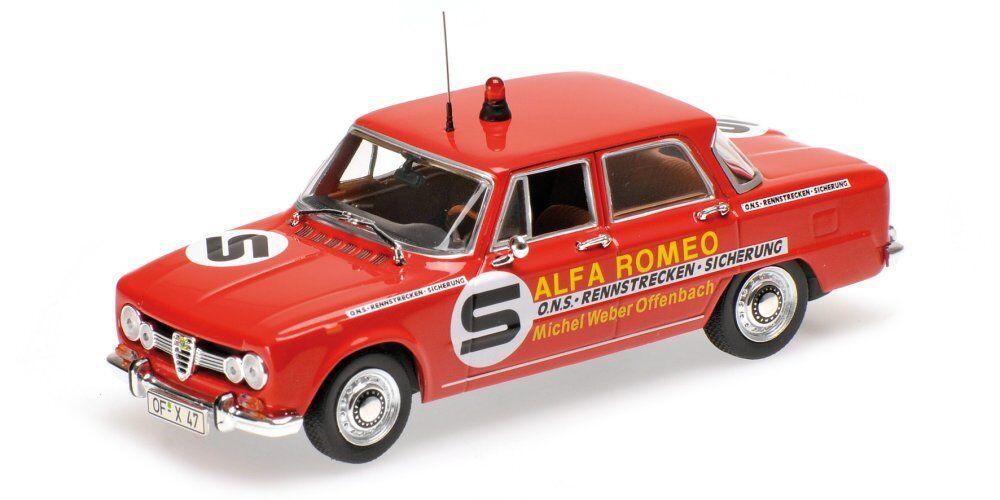 Minichamps  Alfa romeo Giulia  1973  1 43  ONS  NOUVEAU & OVP  Limited 288