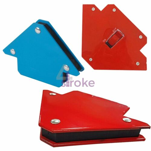 Magnetic Magnet Arrows Welder Welding Holder Strong 3 Angle Soldering Set