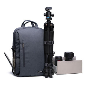Image is loading Women-Fashion-Camera-Backpack-Quality-Men-DSLR -Multifunctional-