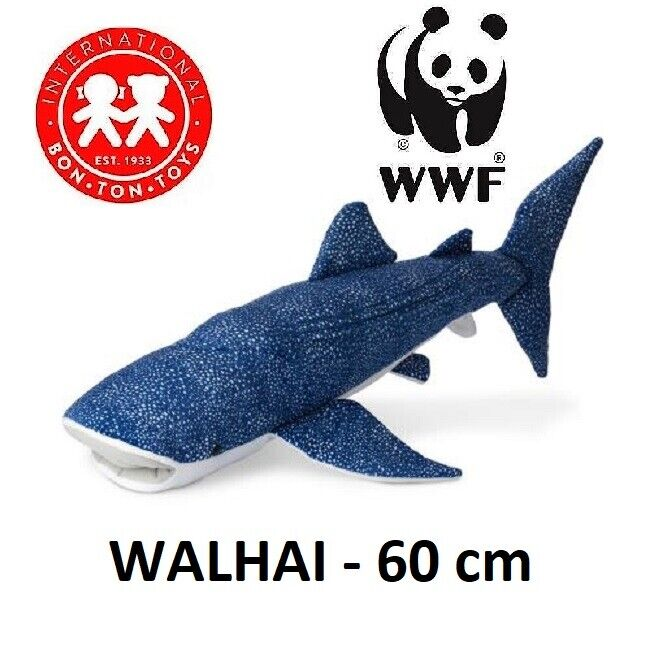 Wwf Plush Collection - Wild Stories Seas - Whale Shark - 60 cm - New