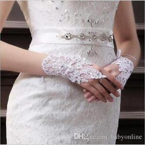 Charming-Fingerless-Lace-Satin-Paragraph-Rhinestone-Bridal-Wedding-Party-Gloves