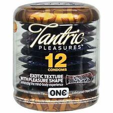 ONE Condoms, Tantric Pleasures 12 ea