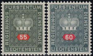 Liechtenstein Dienstmarken Nr. 40+41y postfrisch **