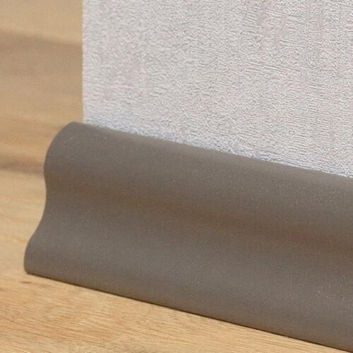 Sockelleiste 0,76 €//m clippfähig Länge 2,6 Meter Dekor Taupe