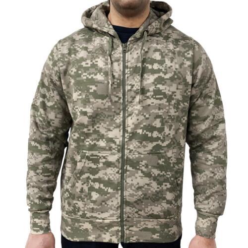 Cappuccio Digitale Uomo Gioco Zip Maglia Con Camo Camouflage Tqgx4wg