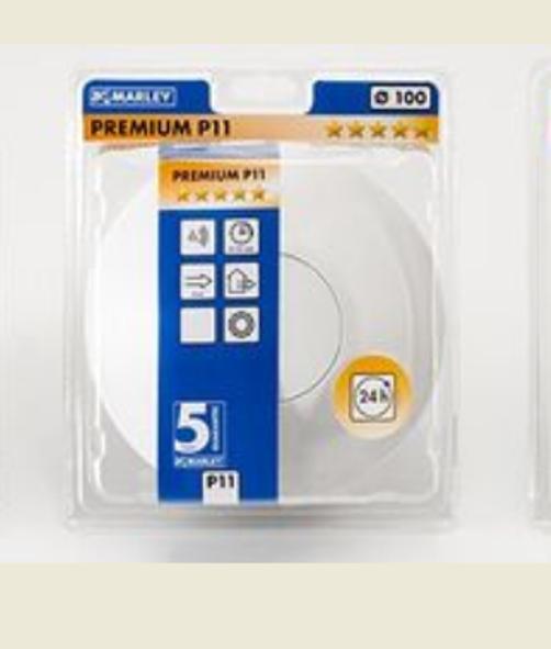 Marley Smart Ventilator P11 (MP100 S) S) S) mit Touchpad Feuchtesensor     | Wir haben von unseren Kunden Lob erhalten.  | Großer Verkauf  | Deutschland Online Shop  a714f0