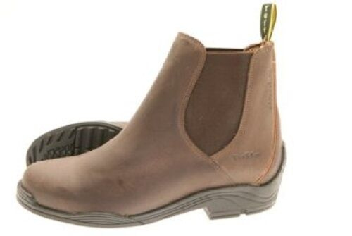 TUFFA FJORD WATERPROOF JODHPUR RIDING BOOTS BROWN HORSE PONY  EQUINE ANTI ODOUR  outlet online store