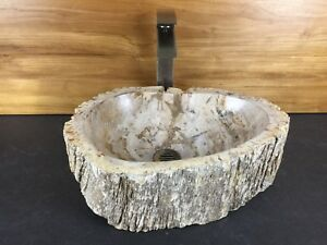 Details About Petrified Wood Vessel Sink #40086