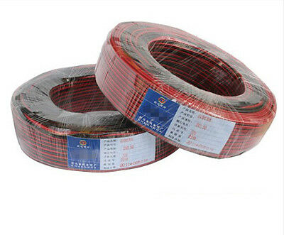 1M 2M 5M 10M 20M 50M 100M Extension Wire 2pin Cable Cord for 3528/5050 LED Strip