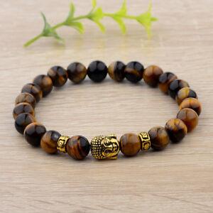 8mm-Natural-Tiger-Eye-Beads-Buddha-Head-Women-Men-Yoga-Energy-Bracelets-Gift