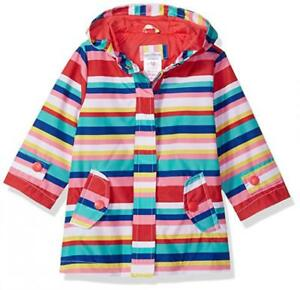 a0b91418e248 Carter s Infant Girls Striped Rainslicker Rain Jacket Size 12M 18M ...