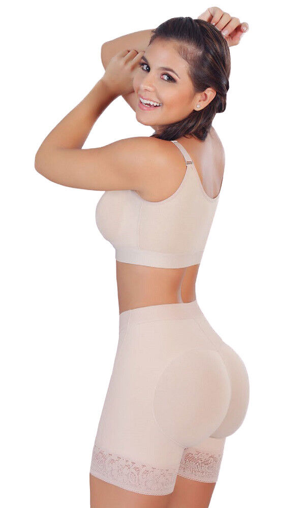 Fajas Salome 0321 Women Thigh Slim Enhancer Shapewear Butt Lift Shorts MOLDEATE