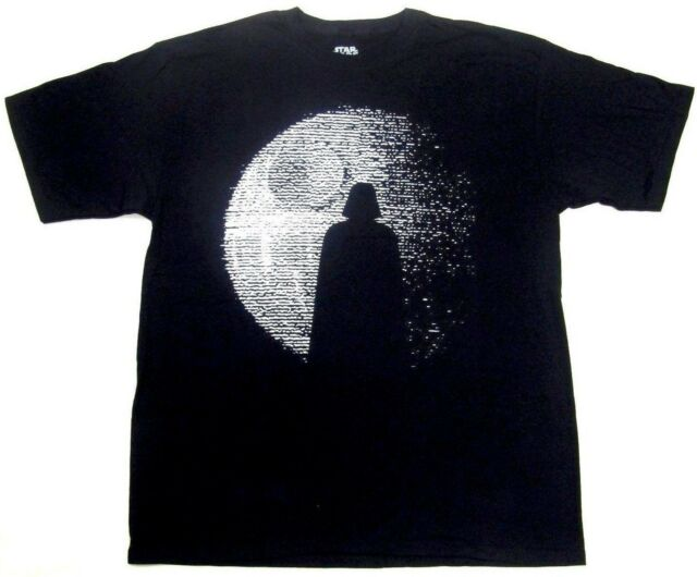 fea1311b NEW RARE Star Wars Darth Vader Silhouette MEN'S XL Black T-Shirt Rogue One  Tee