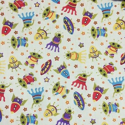 Bundle Remnant Polycotton Fabric 35 cm x 112 cm Children Dragonfly Animal OFFCUT