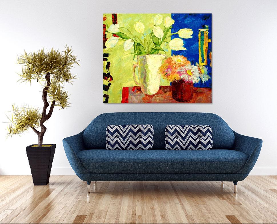 3D Farbe Blumen Malerei 43 Fototapeten Wandbild  BildTapete Familie AJSTORE DE
