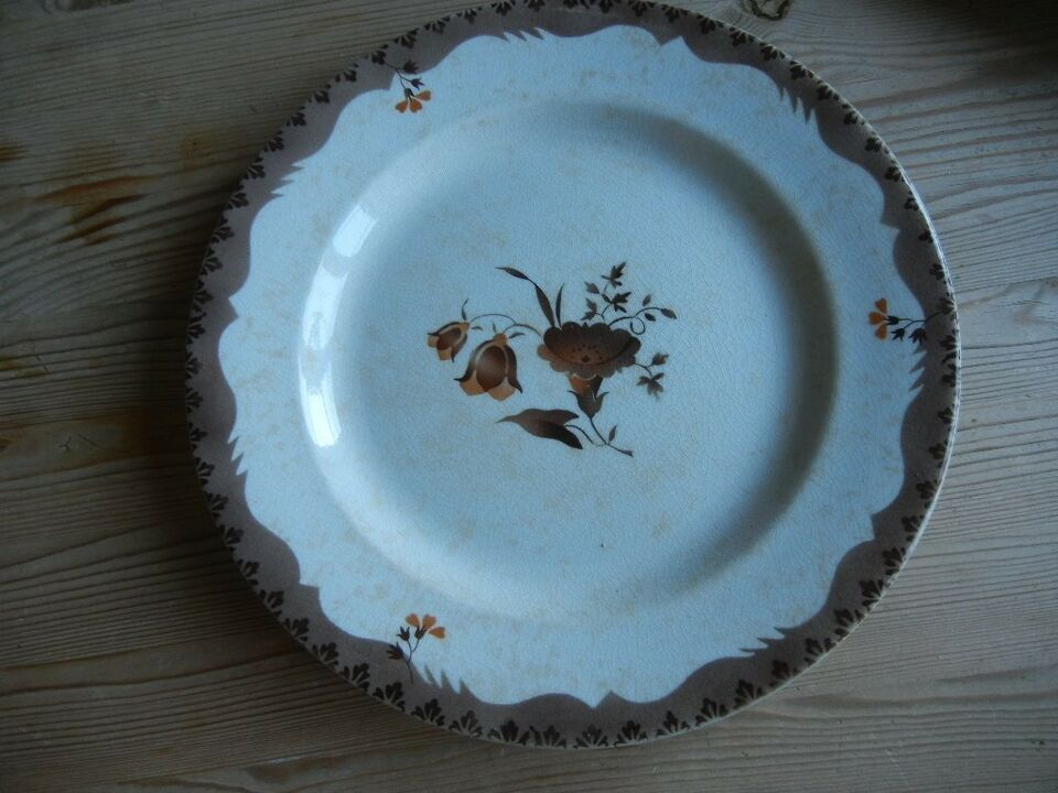 Porcelæn, Royal Copenhagen tallerken 25 cm m.fl.