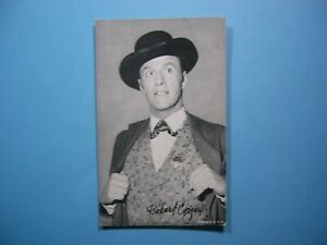 1947-66-ACTORS-amp-ACTRESSES-EXHIBIT-CARD-PHOTO-RICHARD-COOGAN-CAPTAIN-VIDEO-SHARP