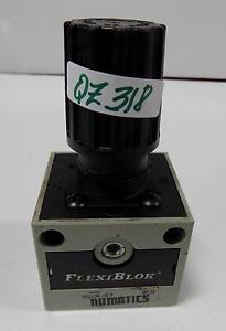 NUMATICS FLEXIBLOCK RELIEVING PRESSURE REGULATOR R22R-03