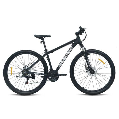 """29/"""" Aluminum Frame Mountain Bike 21 Speed Suspension Shimano Bicycle Disc Brake"""